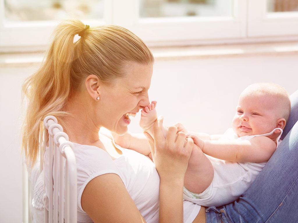 Ende der postnatalen Depression